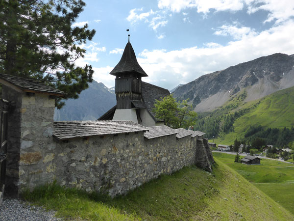 Arosa Kirche in Bergen