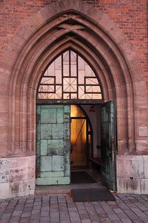 Die Eingangstür
