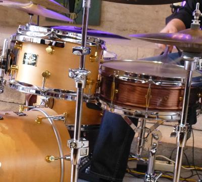 Ausschnitt Schlagzeug