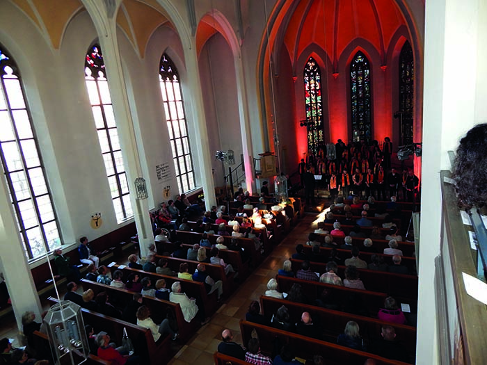 Benefizkonzert mit dem Gospelchor Kösching für Förderverein Frauen beraten