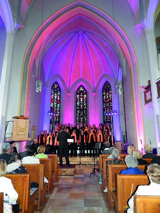 EInzug-Gospelchor