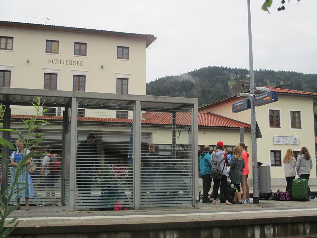 Ankunft in Schliersee