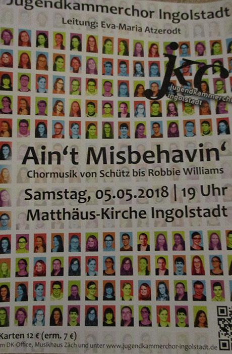 Plakat Jugendkammerchor