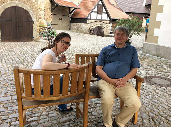Frau Mahnke und Herr Meiser