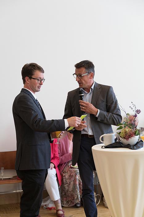 Pfarrer Wieder und Vertrauensmann Jastrow