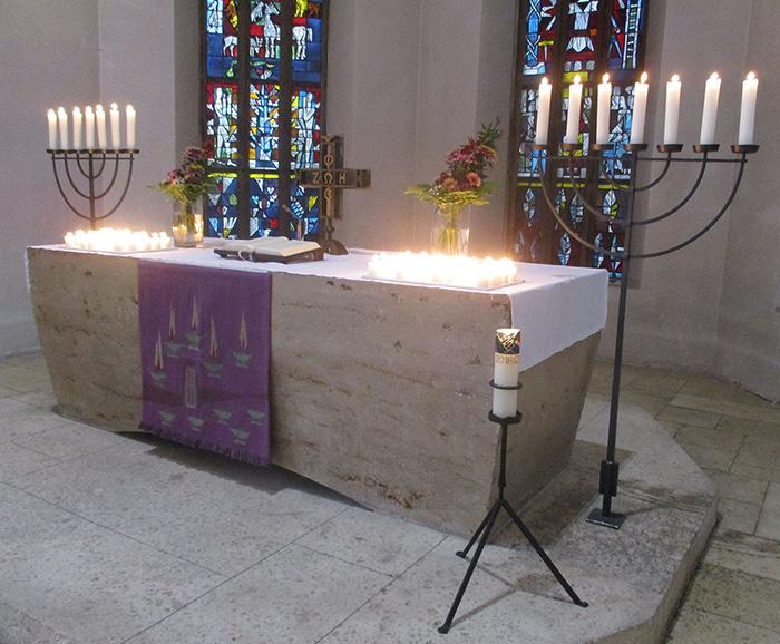 Altar am Ewigkeitssonntag
