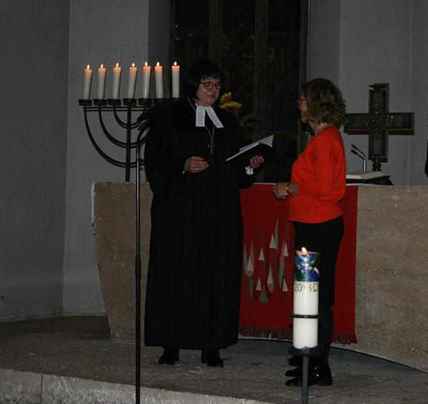 Frau Niemeyer und Frau Schwarz