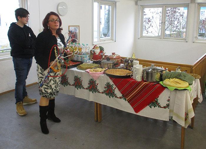 Weihanchtsessen aus Bulgarien, Gesundheitsrute zum Neuen Jahr
