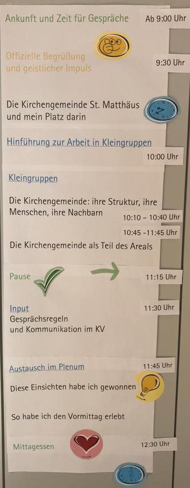 Tagesordnung KV-Klausur