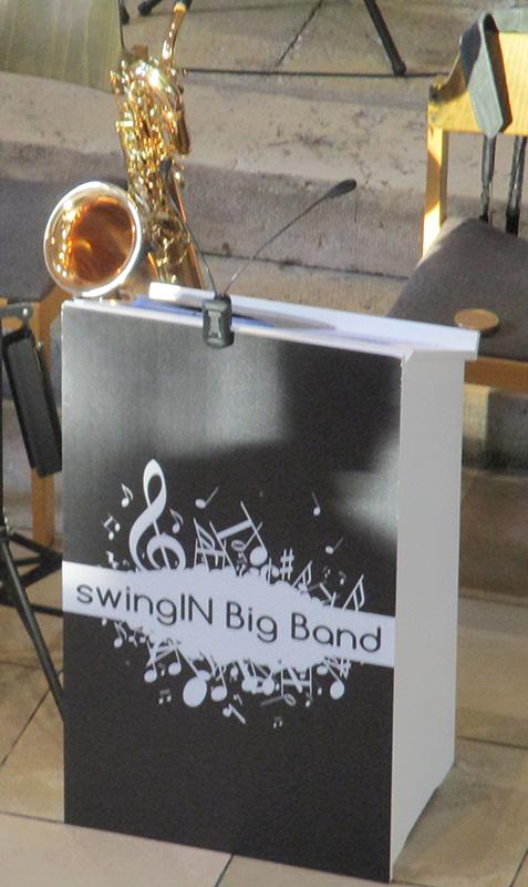 Saxophon swingIn-Bigband