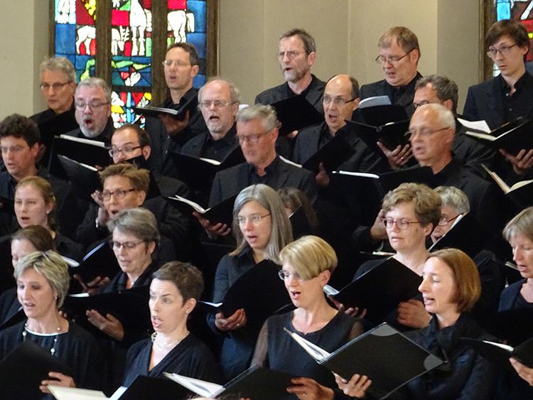 Bachchor Sängerinnen und Sänger
