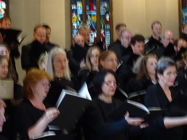 Bachchor Sängerinnen