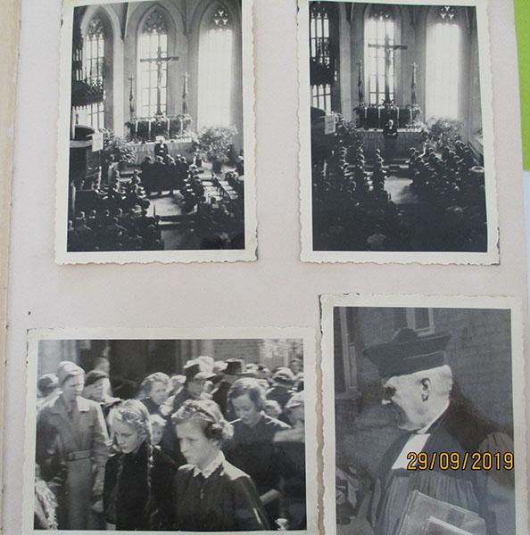 Erinnerungsfotos von 1954