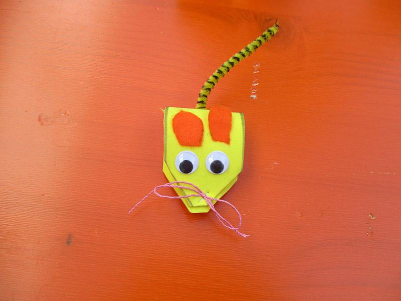 Gebastelte Maus