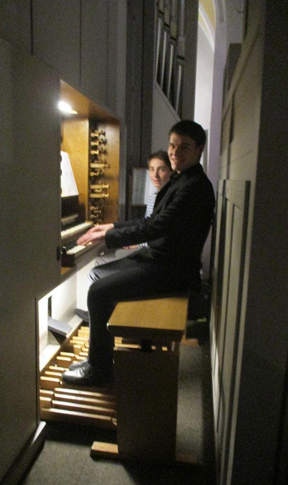 Micha Haupt, Orgelkonzert 16
