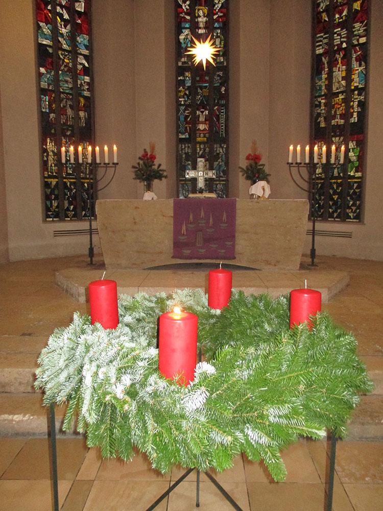 Kirche 1,Advent kleiner