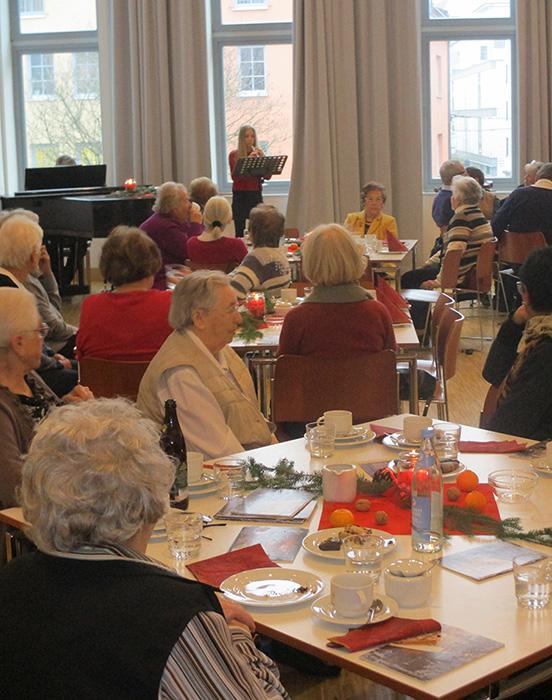 Seniorenadvent Publikum