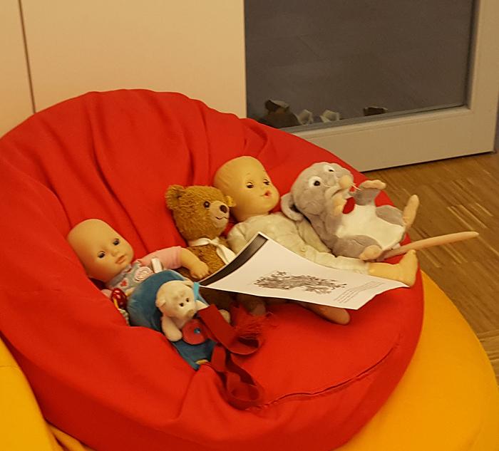 Kirchenmaus Charly und Freunde im Kindergottesdienst