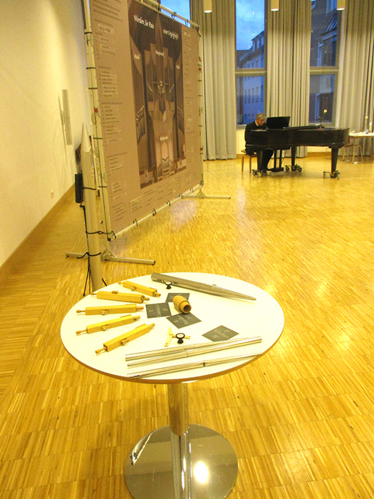 Fundraising-Dinner Flügelmusik, Orgelteile
