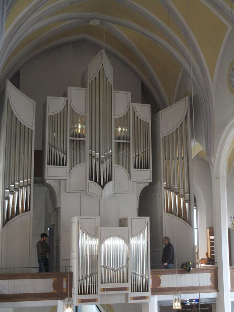 Orgel Großaufnahme