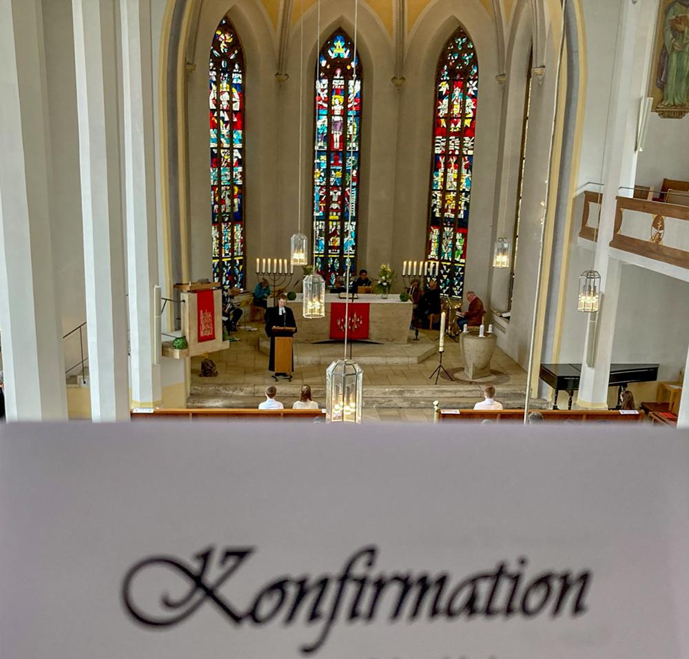 Blick in Altarraum
