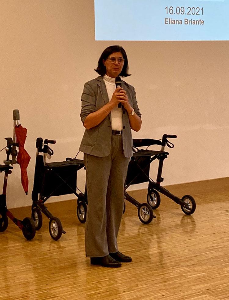 Referentin Eliana Briante